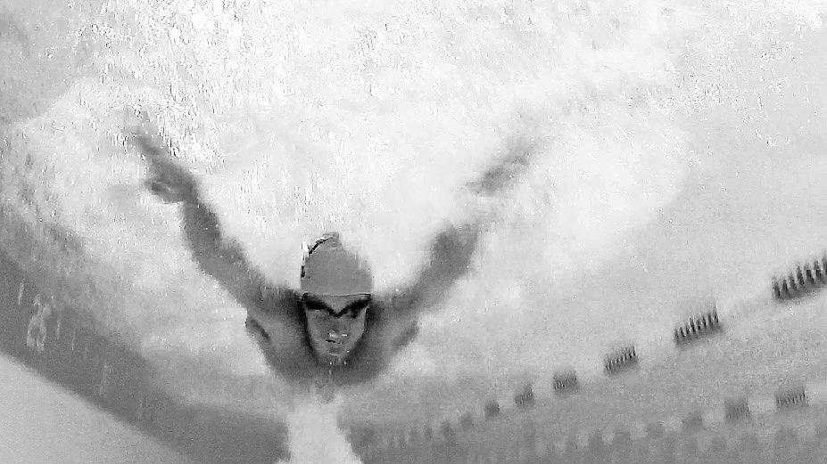 Underwater UNCW Swimmer