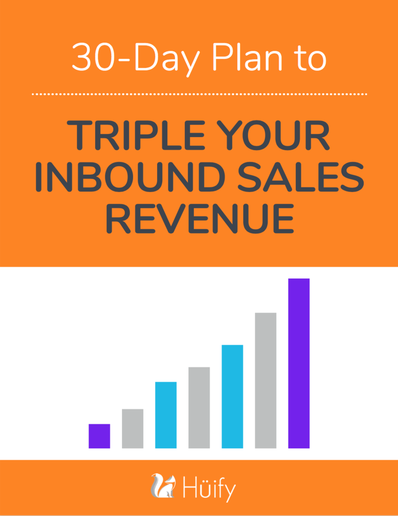 Triple Your Inbound Sales Revenue Ebook
