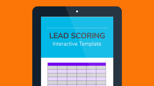 Interactive Lead Scoring Template
