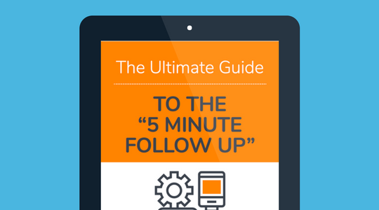 The Ultimate Guide To The 5 Minute Follow Up Ebook