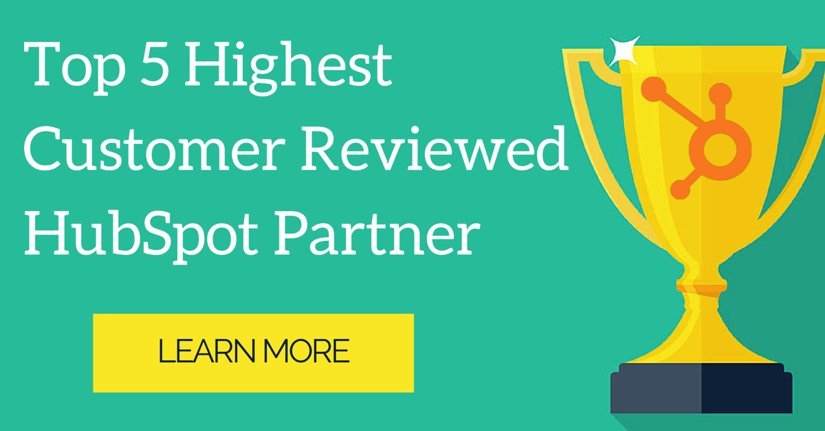 Highest Customer Reviewed HubSpot Partner