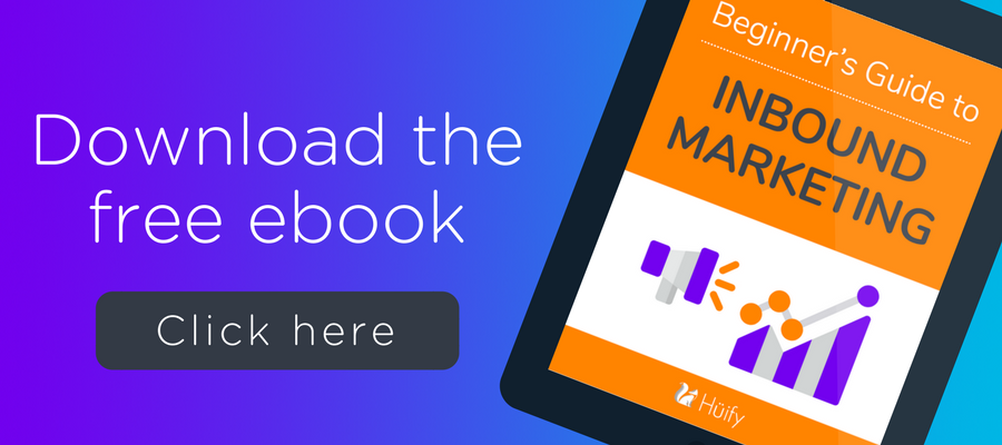 Download the free Beginner's Guide to Inbound Marketing ebook